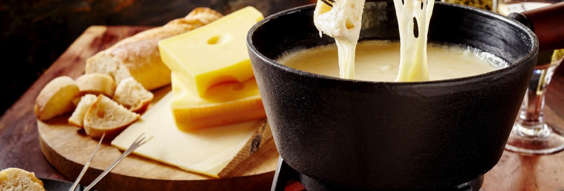 Fondue de queijo em Gramado